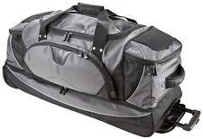 Valise-tissu-XL-Voyage 4 rouleaux Trolley-noir 80 cm-Grand 3,2 kg-Léger-bowatex