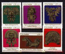 Kolumbien 1589/94 Kultur postfrisch