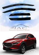 For Mazda CX-30 2020- Window Visor Vent Sun Shade Rain Guard Door Visor