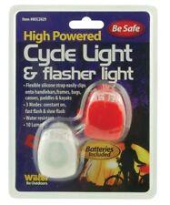 Safety Light Clip On LED Bike Cycle Runners Kayak Pet Dog Strobe Lights