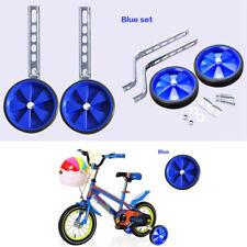 "Bike Cycle Bicycle Children Kids Stabilisers 12- 20"" Blue Training Wheels US"