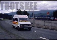 35mm Colour Slide Highland Motor Service Bus F637HVM at Fort William 1992