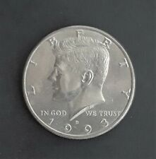 1993 - D Kennedy Half Dollar Uncirculated Coin - Brilliant Luster