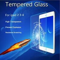 LCD Tempered Glass / Plastic Screen Protector Film Guard for Apple iPad 2 3 4