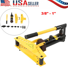 Hydraulic Pipe And Tube Bender With 4 Pcs Bending Formers 38 1 New