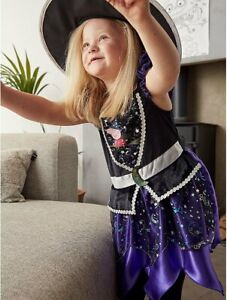 BRAND NEW AND UNWORN ( Halloween  Peppa Pig  Witch  Dress Costume ) Girls
