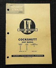 1964 COCKSHUTT 20 30 40 50 CO-OP E2 E3 E4 E5 FARMCREST TRACTOR I&T REPAIR MANUAL
