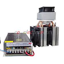 Semiconductor Refrigeration Peltier Cooler DIY Air Conditioning Mini Fridge 120W