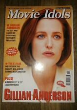 X-Files Gillian Anderson Movie Idols magazine/poster combo