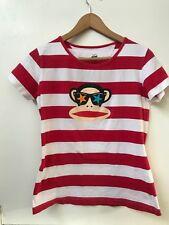Paul Frank XL Girls T Shirt Julius Red White Striped Starfish Sunglasses