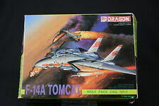 YL042 DRAGON 1/144 maquette avion 4552 F-14A Tomcat Wolf Pack Cag VF-1