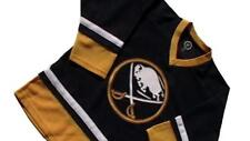 New Youth Boys NHL Blue Buffalo Sabres Large 10/12 Hockey Jersey Uniform Shirt