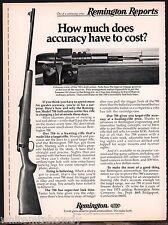1975 REMINGTON Model 788 Bolt-Action Centerfire RIFLE AD Print Advertising
