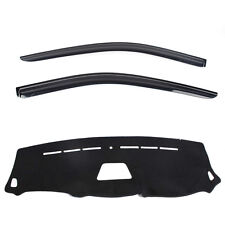 Weathershields with Dash mat for 02/2008 ~ 2016 Hyundai iLoad iMax