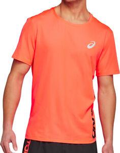 Asics Future Tokyo Ventilate Short Sleeve Mens Running Top - Orange