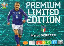 PANINI ADRENALYN XL UEFA EURO 2020 MARCO VERRATTI PREMIUM LIMITED EDITION CARD