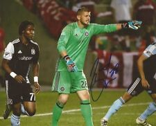 Matt Lampson signed Chicago Fire MLS Soccer 8x10 photo autographed 2