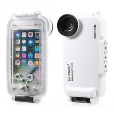 MEIKON 40m/130ft Underwater Case IPX8 Waterproof Diving Case for iPhone 7 4.7