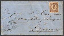 Netherlands 1870 NVPH Due 1  SPOEDcover Appingadam- Lop