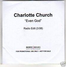 (H137) Charlotte Church, Even God - DJ CD