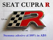 SEAT CUPRA R LEON IBIZA Badge Stemma Fregio Cooper Emblem Logo NUOVO