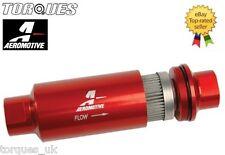 AEROMOTIVE ORB-10 40 Micron Red Billet Aluminium Fuel Filter - 12335