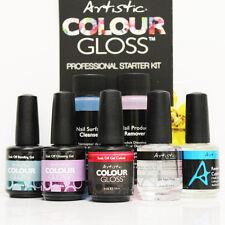 Artistic Colour Gloss Basic Starter Kit 8pcs: Bonding + Glossing Gel + Bond ...
