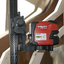 New Hilti laser level PM 2-L laser line Included three-piece bracket