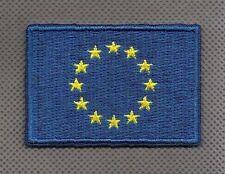 Flagge EU Flag Europa iron-on Aufnäher patch