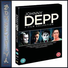 JOHNNY DEPP - 4 FILM COLLECTION  *BRAND NEW DVD BOXSET****