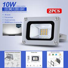 2 X 10W  LED Flood Light White light Outdoor Garden Light 220V Lighting Device