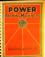 1929   The Great Minneapolis Threshing Machine Co. Annual Sales Catalogue  F/S/H