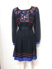 """Vestido """"Peace & Love"""" - talla L /44 en color negro  ( Envios comb.)"""