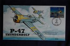 Advances in Aviation P-47 Thunderbolt Stamp FDC HP Collins#X3907 Sc#3919