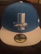 New Era Detroit Lions NFL Fitted Hat Throwback 6 7/8