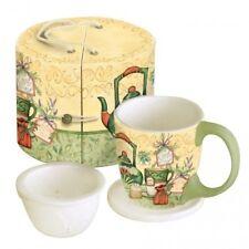 Lang Tea Time Tea Set, Tea Cup, Steeper and Lid/Coaster