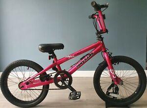 "Tony Hawk HuckJam Series Magnolia 18"" Wheels Rare BMX Bike Pink Free UK Delivery"