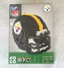 Pittsburgh Steelers Forever Collectibles 3d Brxlz Helmet Puzzle 1239p
