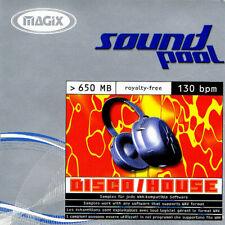 MAGIX / Soundpool DISCO-HOUSE / Sampling-CD / WAV / 650+ MB