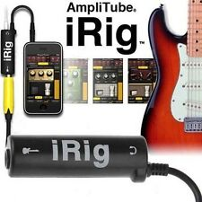 iRig Guitar Interface Converter iPhone iPod Touch iPad For Amplitude GarageBand