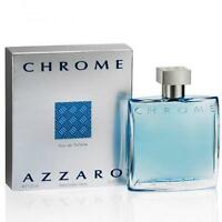 Chrome Cologne by Azzaro, 3.4 oz EDT Spray for Men NEW