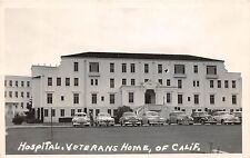 California Ca Postcard Real Photo RPPC c1950 YOUNTVILLE Veterans Home Hospital
