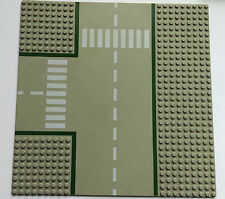Vintage Lego BasePlate Board Grey Road 1970's/1980's - Type 1