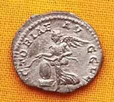 Ancient Roman Septimius Severus Denarius, Rare