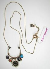 Betsey Johnson Lucky Charm Necklace