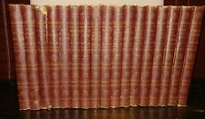 STANDARD CLASSICS 17 BOOKS VOLUMES STEVENSON KIPLING VINTAGE DECORATIVE