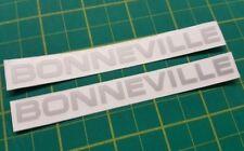 Triumph Bonneville Panneau Latéral/Boîte à outils/TANK Restoration decals stickers 650