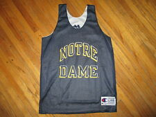 51ab2d743 NOTRE DAME REVERSIBLE BASKETBALL JERSEY Practice CHAMPION Fighting Irish  YOUTH L