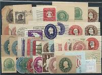 FRANCOBOLLI 1902/68 USA STATI UNITI LOTTO 20 BUSTE AFFRANCATURE DIVERSE D/6040