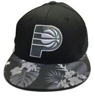 adidas NBA Indiana Pacers Cap, L / XL Men's Hat, Flat Brim,